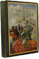 The Boy�s King Arthur edited by Sidney Lanier (1917)