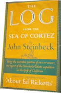 The Log from the Sea of Cortez by John Steinbeck - inscribed to playwright Paul Osborn