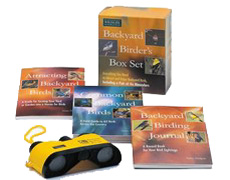 The Backyard Birder's Box Set by the National Wildlife Federation  (3. vols, binoculars)