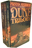 The Dune trilogy Box Set by Frank Herbert (3 vols.)