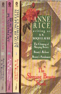 The Erotic Adventures of Sleeping Beauty box set (3 vols) by Anne Rice