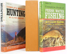 Complete Book of Hunting & Fresh Water Fishing box set (2 vols) by Clyde Ormond & P. Allen Parsons