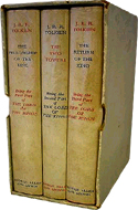 Lord of the Rings 1962 box set (3 vols) by J.R.R. Tolkien