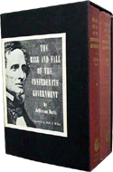 The Rise and Fall of Confederate Government box set (2 vols) by Jefferson Davis