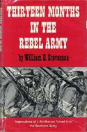 Thirteen Months in the Rebel Army by William G Stevenson (1862)