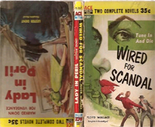 Lady in Peril / Wired for Scandal by Lester Dent & Floyd Wallace