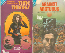 Time Thieves / Against Arcturus by Dean Koontz and Susan K. Putney