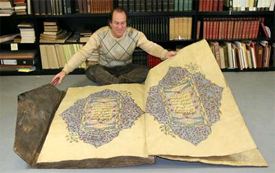 Giant Illuminated Koran