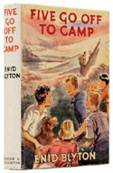 Five Go Off to Camp by Enid Blyton