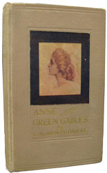First edition of Anne of Green Gables by Lucy Maud Montgomery