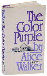 First edition of The Color Purple by Alice Walker