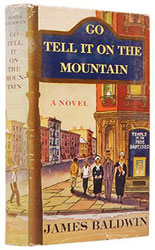 First edition of Go Tell it on the Mountain by James Baldwin