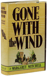First edition of Gone with the Wind by Margaret Mitchell
