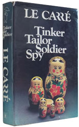First edition of Tinker Tailor Soldier Spy by John Le Carré