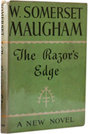 the razors edge essay I read w somerset maugham's of human bondage and the razor's edge,  two amazing books that detail the struggle for fulfillment in life.