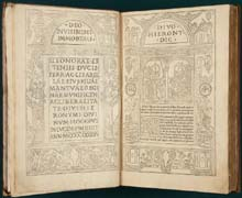 Epistolae and Lupus de Oliveto by Hieronymus (1497)