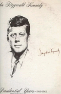 JFK: The Presidential Years 1960-1963. Album of Speeches signed by Jackie Kennedy.