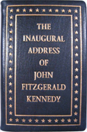 The Inaugural Address of John F Kennedy (miniature)