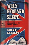 Why England Slept by John F Kennedy