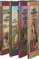 Berrybender Narratives by Larry McMurtry (4 volumes)