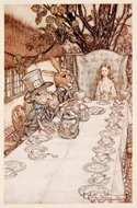 Alice's Adventures in Wonderland by Lewis Carroll, illustrated by Arthur Rackham