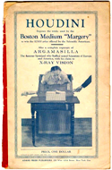 "Houdini Exposes the Tricks Used by the Boston Medium ""Marger"" to Win the $2000 Prize"