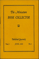 The Miniature Book Collector by Ruth E. Adomeit