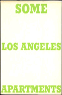 Some Los Angeles Apartments by Ed Ruscha