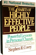 The 7 Habits of Highly Effective People by Stephen R Covey