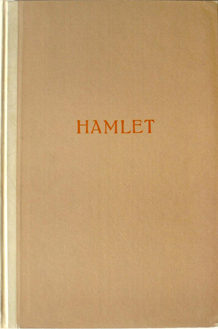 The Tragedie of Hamlet, Prince of Denmark by William Shakespeare