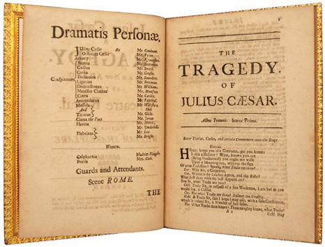 Julius Caesar. A Tragedy. As it is now Acted at the Theatre Royal. 1691