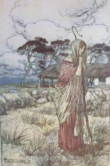 Tales from Shakespeare by Charles & Mary Lamb, illustrated by Arthur Rackham