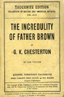 The Incredulity of Father Brown by G.K. Chesterton