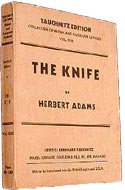 The Knife by Herbert Adams
