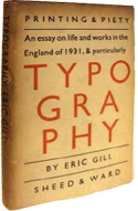 An Essay on Typography by Eric Gill (1931)