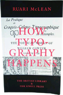 How Typography Happens by Ruari McLean (1999)