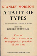 A Tally of Types by Stanley Morison (1953)
