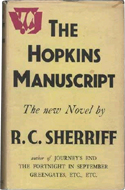 The Hopkins Manuscript by R.C. Sheriff