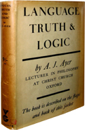 Language, Truth and Logic by A.J. Ayer