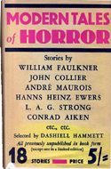 Modern Tales of Horror selected by Dashiell Hammett