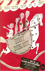 Hobby Dyeing Books for Young People From Six to Sixty by Miss Rit (1953)