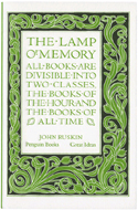 The Lamp of Memory by John Ruskin