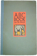 ABC Book Designed and Cut on Wood by C.B. Falls