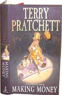 Affordable autographed books like Making Money by Terry Pratchett.