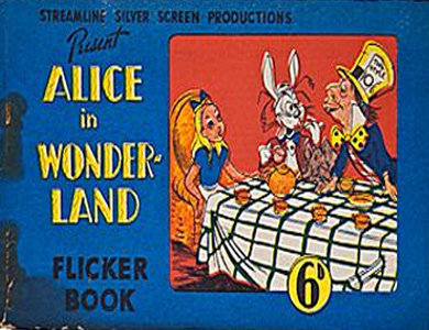Alice in Wonderland Visits the Duchess (Flicker Book)