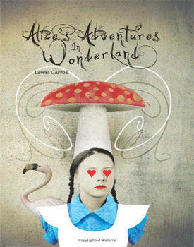 Alice's Adventures in Wonderland featuring original art by over 50 artists.