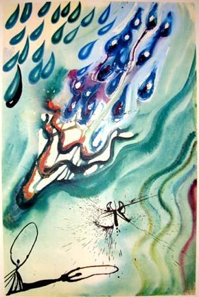 Alice's Adventures in Wonderland with twelve illustrations by Salvador Dali