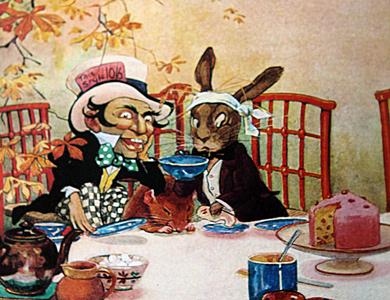 Alice's Adventures in Wonderland - illustrated by Gwynedd Hudson