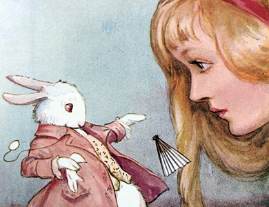Alice's Adventures in Wonderland by Lewis Carroll, illustrated by Margaret Tarrant