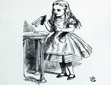 Alice's Adventures in Wonderland by Lewis Carroll, illustrated by John Tenniel